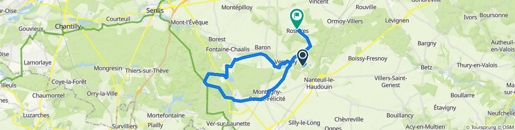 De 5 Rue du Moulin, Versigny à 125 Rue de la Muette, Rosières