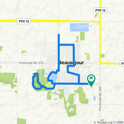 Beausejour Ride Don't Hide Route