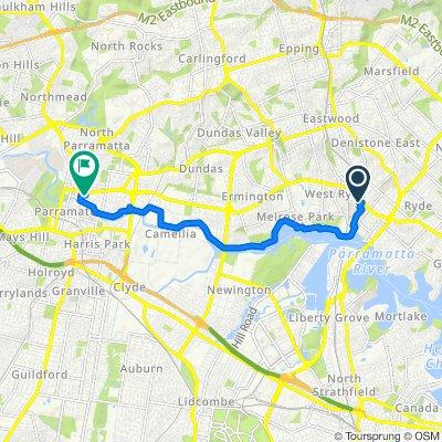 2-4 Mulvihill Street, West Ryde to 18 Sorrell Street, Parramatta