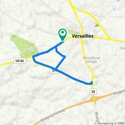 501 Tyrone Pike, Versailles to 501 Tyrone Pike, Versailles