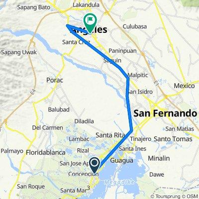 Santo Tomas Road, Lubao to Sto.Rosario Street, Angeles City
