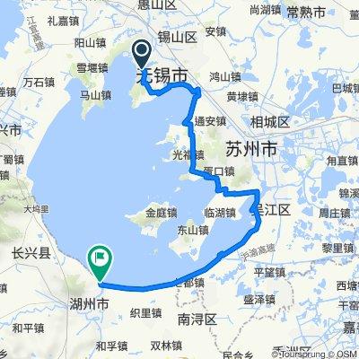 Shanshui East Road 25 South 60 Meters, Wuxi to No.200 Meizhou Road, Huzhou