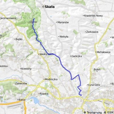 KRAKÓW 2011: Ojcowski Park Narodowy - Prądnik Korzkiewski - Zielonki - Fort Bibice - Witkowice - Kraków - Siewna