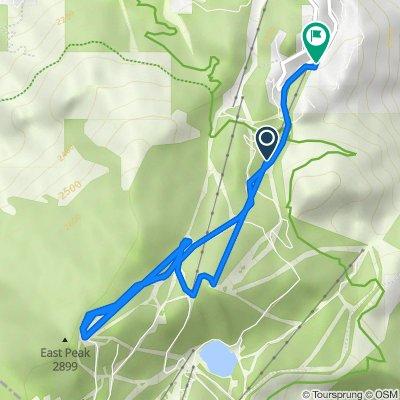 Tahoe Rim Trail, Gardnerville to Quaking Aspen Lane 416, Stateline