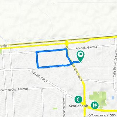 De Avenida Ramón Corona 1792, Mexicali a Avenida Ramón Corona 1792, Mexicali