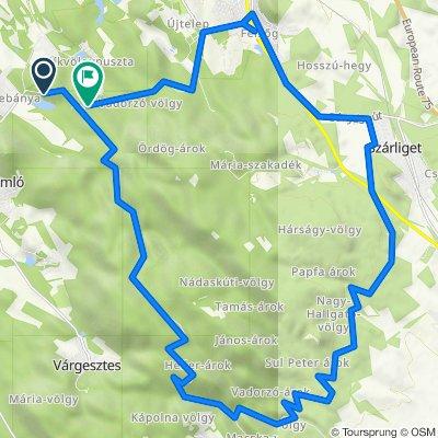 Vértes 36,4 km