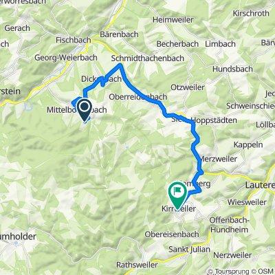 Auf Hirtenbach 9A, Idar-Oberstein nach Hauptstraße 59, Kirrweiler