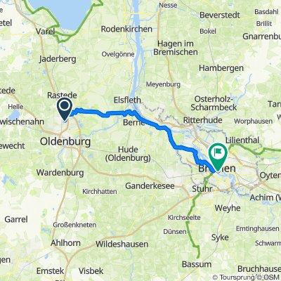 OL-Bremen (zum Weser-Radweg)