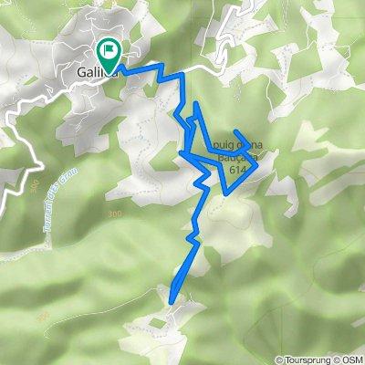 Mallorca a peu: de Galilea a Son Font (Calvià) amb ascensió a Na Bauçana
