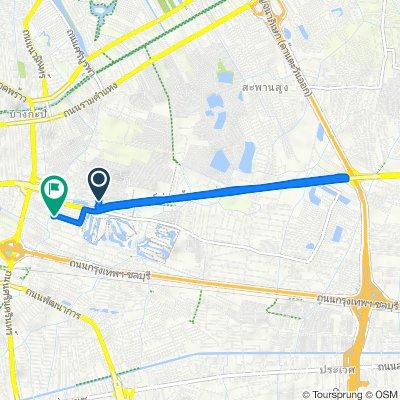ซอย กรุงเทพกรีฑา 7 267 to ถนน กรุงเทพกรีฑา 108