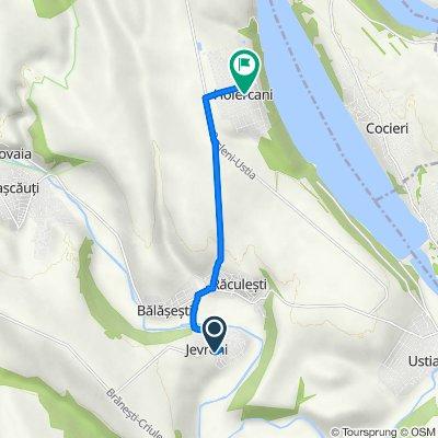Route from G72-Jevreni-Răculești, Dubăsari