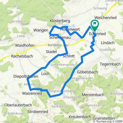 Ortsstraße 6, Hohenwart nach Ortsstraße 6, Hohenwart
