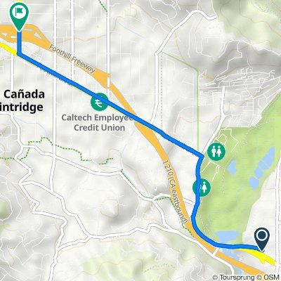 North Arroyo Boulevard 2306, Altadena to La Cañada Flintridge