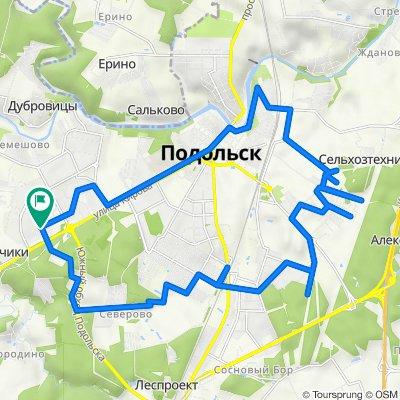 От улица Генерала Смирнова 10, Подольск до улица Генерала Смирнова 10, Подольск