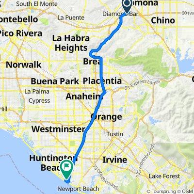 725 Featherwood Dr, Diamond Bar to 22311 Brookhurst St, Huntington Beach