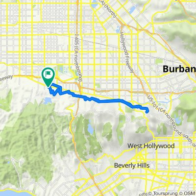 17436 Tarzana St, Los Angeles to 17429 Tarzana St, Los Angeles