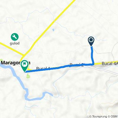 Route to Col. V. Villafranca 132, Maragondon