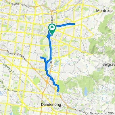 91 Barmah Drive W, Wantirna to 91 Barmah Drive W, Wantirna