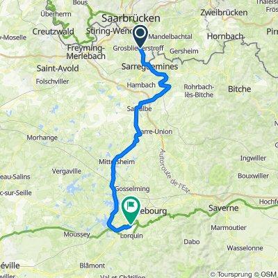 [Day 10] Kleinblittersdorf - Xouaxange