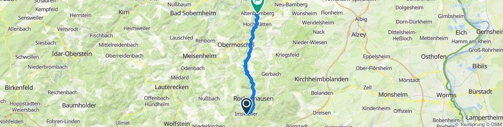 Imsweiler nach Altenbamberg