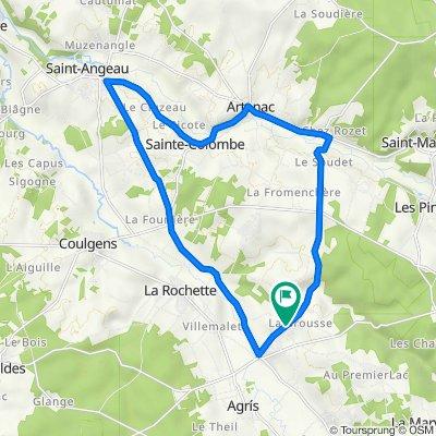 De 49 Rue de la Bellone, Agris à 448 Route de Saint-Claud, Agris