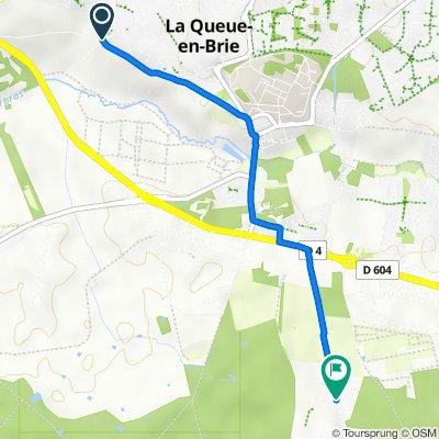 De Chemin des Carrières, La Queue-en-Brie à 2 Chemin des Marmouzets, La Queue-en-Brie