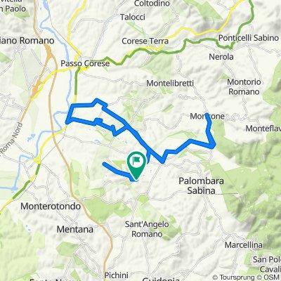 Da Viale Luigi Greco 25, Cretone a Via Roma 110, Cretone