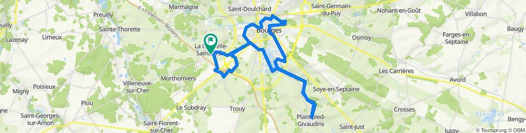 De 4 Impasse de Provence, La Chapelle-Saint-Ursin à 4 Impasse de Provence, La Chapelle-Saint-Ursin