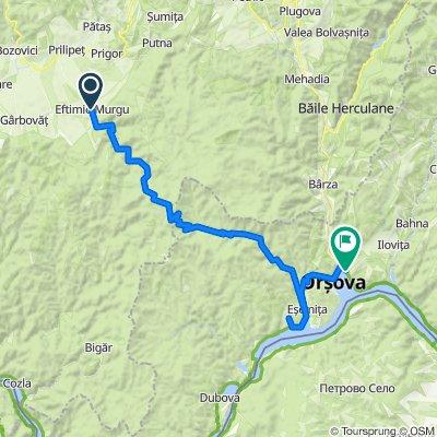 Ziua 5 Eftimie Murgu - Cheile Rudariei - Orsova