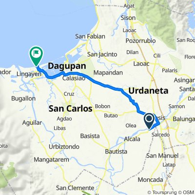 Road, Santo Tomas to Baywalk 113, Lingayen