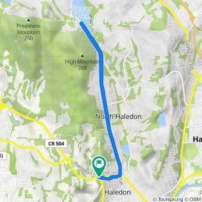 134 W Haledon Ave, Haledon to 134 W Haledon Ave, Haledon