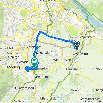 Rannersdorf b.Wien Zwölfaxinger Straße, Schwechat nach L2006 84, Biedermannsdorf
