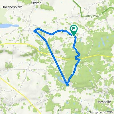 Løvenholmvej 28, Auning to Løvenholmvej 28, Auning