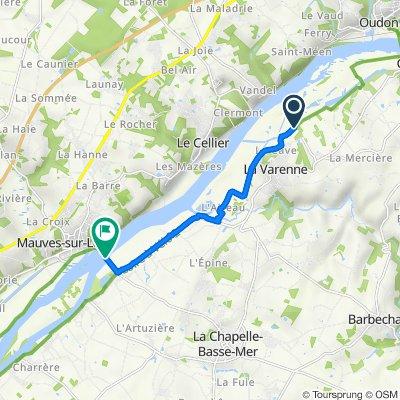 Itinéraire vers D31, La Chapelle-Basse-Mer