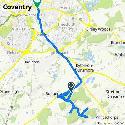 Trasa do Jimmy Hill Way, Coventry
