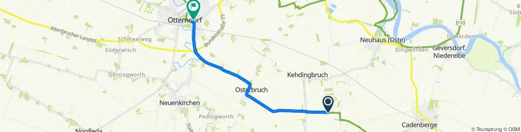 Sprenge, Bülkau nach Liebesweg 2, Otterndorf