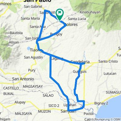 San Cristobal Round Trip via Candelaria, Quezon, San Juan, Batangas