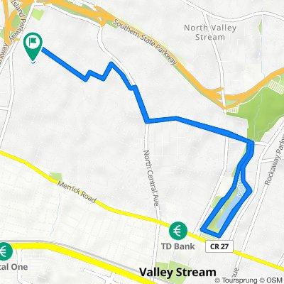 6 Everett St, Valley Stream to 6 Everett St, Valley Stream