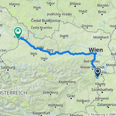 Neustiftgasse 5, Lackenbach nach Schönauerweg 21, Passau