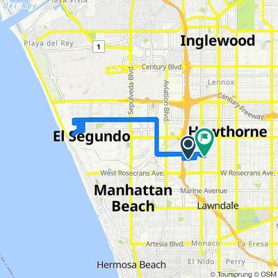5106 W 137th St, Hawthorne to 4718 W 136th St, Hawthorne