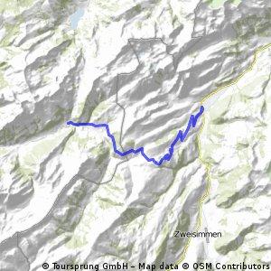 Cycling the Alps Jaun pass (1508m)