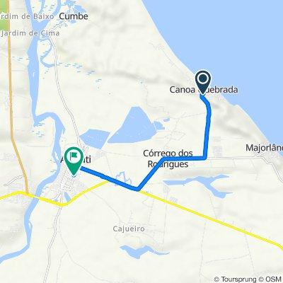 Trilha da Duna do Por do Sol 7389 to Rua Duque de Caxias 37