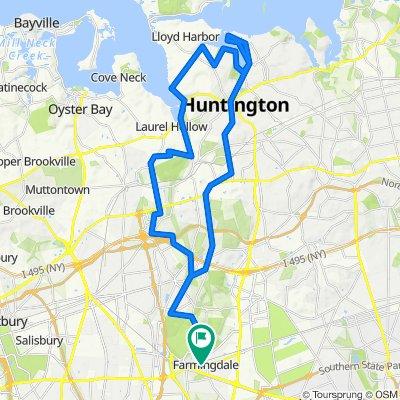 Main St Farmingdale to Huntington Bay
