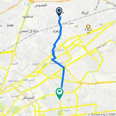 Abd Al Moneim Suliman Street, Al Marg to Abbas Al Aqad Street 38, Nasr City