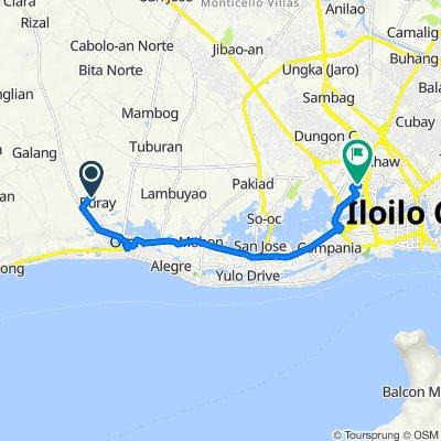 Unnamed Road, Oton to Pison Avenue, Iloilo City