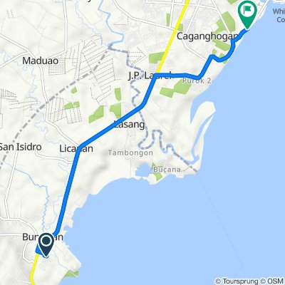 Unnamed Road, Davao City to Unnamed Road, Panabo