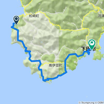 20, Ishibu, Matsuzaki, Kamo-Gun nach Sotogaoka, Shimoda