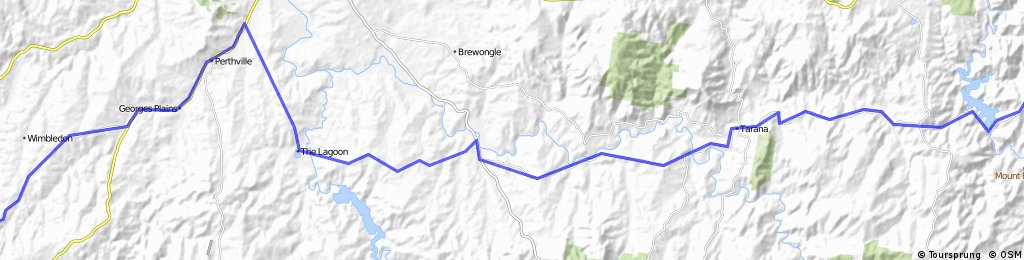 lithgow to newbridge