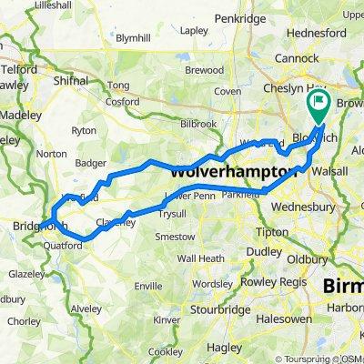 Bridgenorth Route