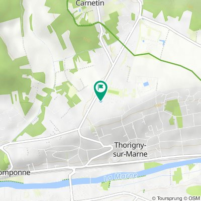 De 26 Allée du Bocage, Thorigny-sur-Marne à 26 Allée du Bocage, Thorigny-sur-Marne